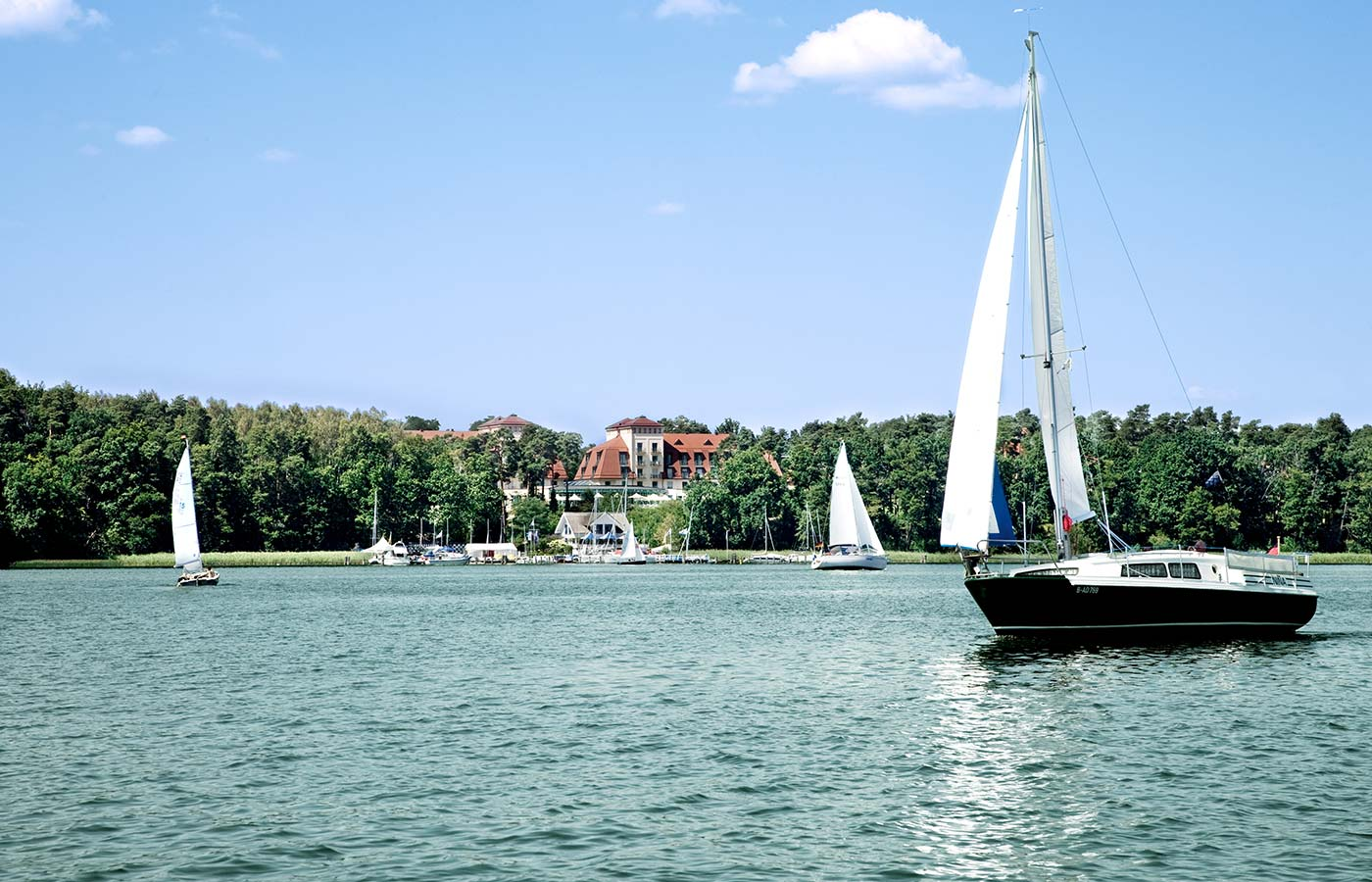 segeln auf dem Scharmützelsee