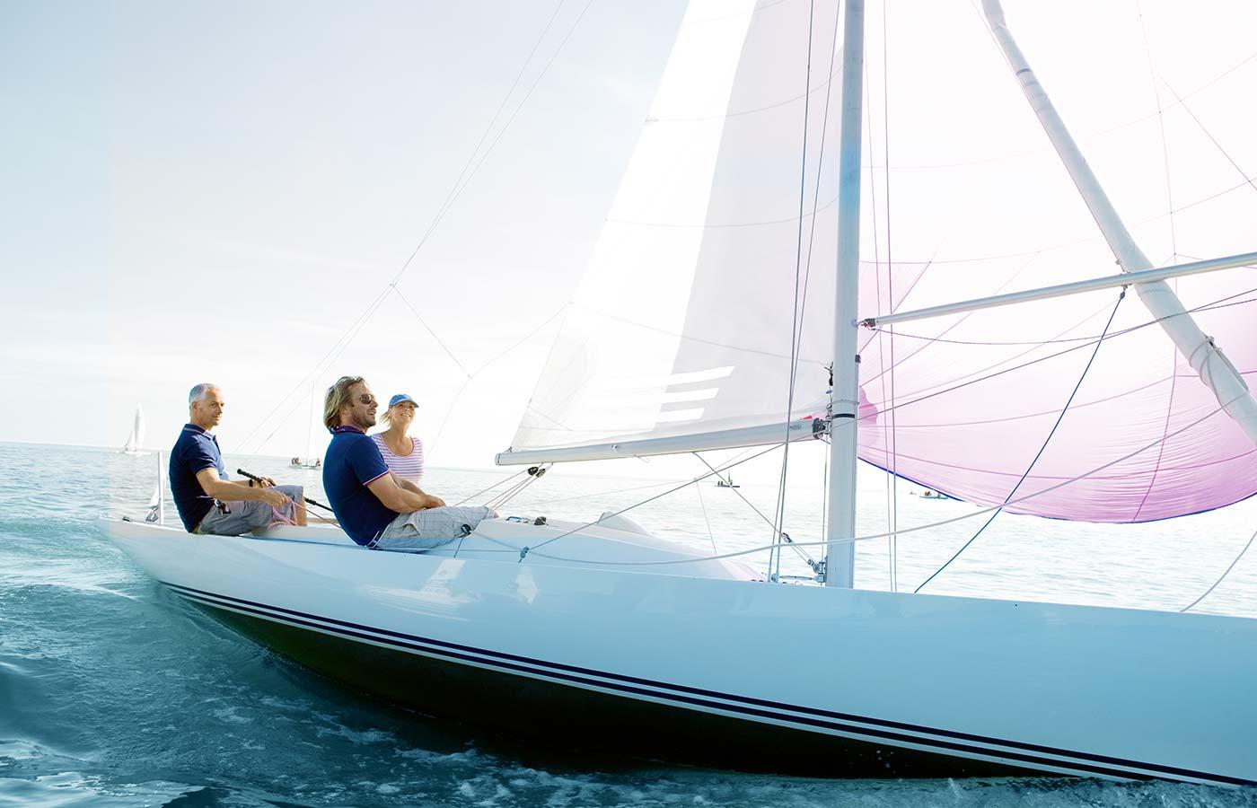 Segelboot Bad Saarow
