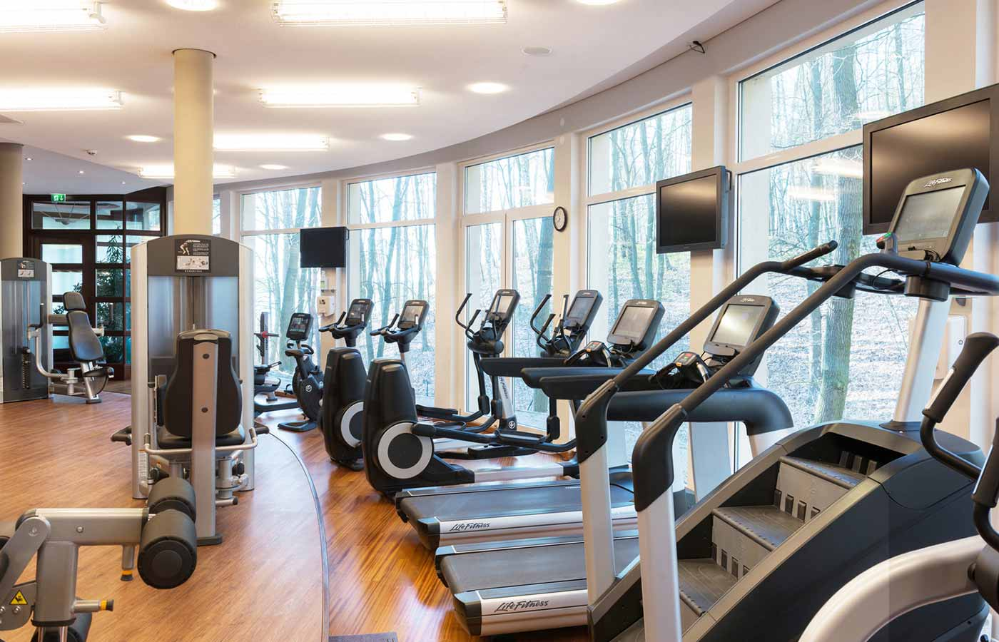 Fitness im Spa-Rosa